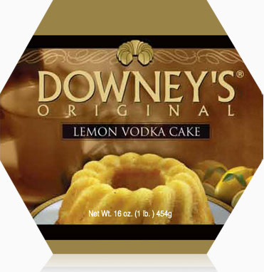 Lemon Vodka Cake 1lb
