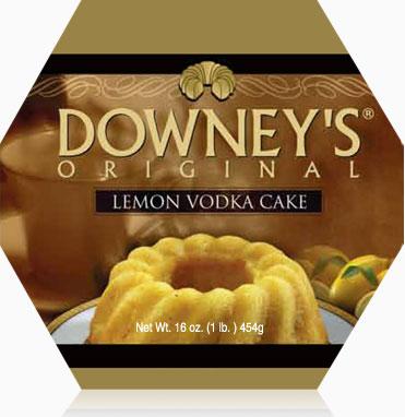 Lemon Vodka Cake 1lb